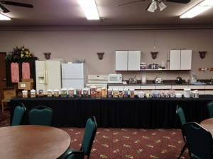 Breakfast Buffet at the DeSmet Super Deluxe Inn
